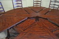 44 Round Dining Table With Leaf About 44 Round Dining ...