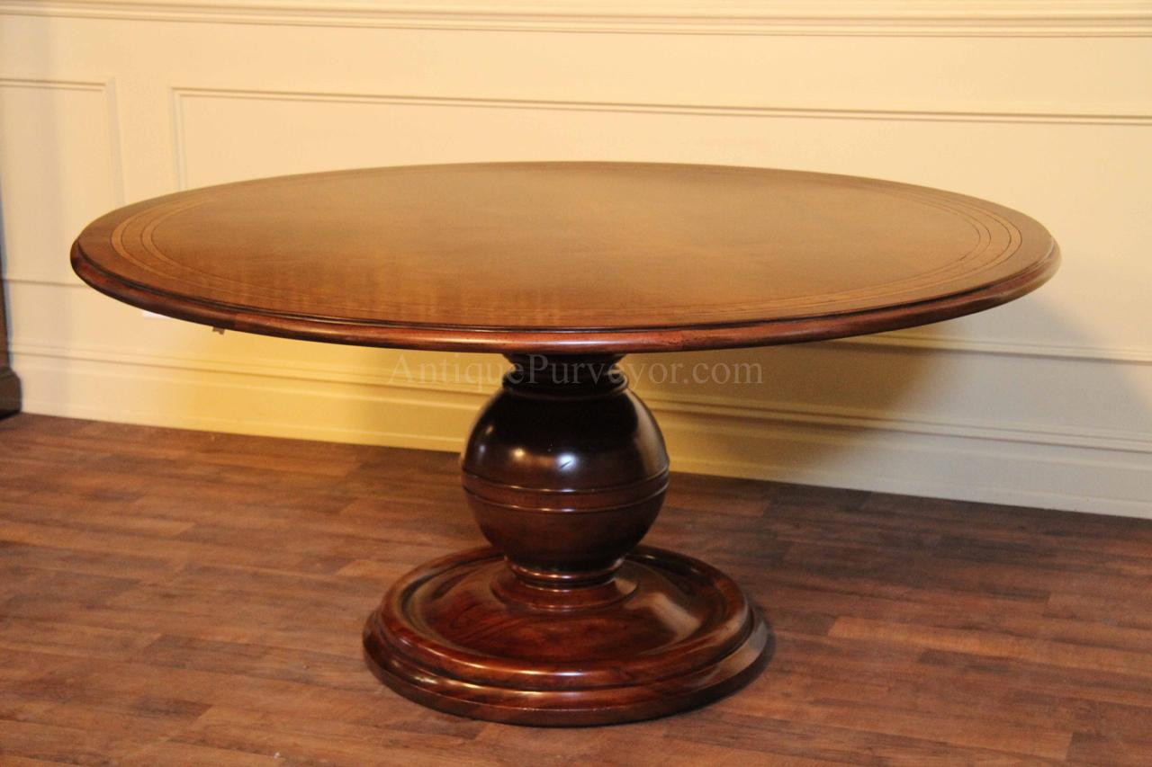 round pedestal kitchen table layout planner country wood and painted base for