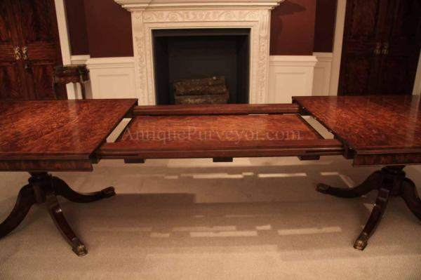 Flame Mahogany Dining Table for Seating 814 People 12
