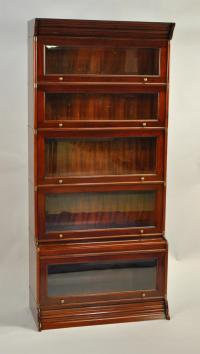 Reproduction Globe Wernicke Stacking Barrister Bookcase