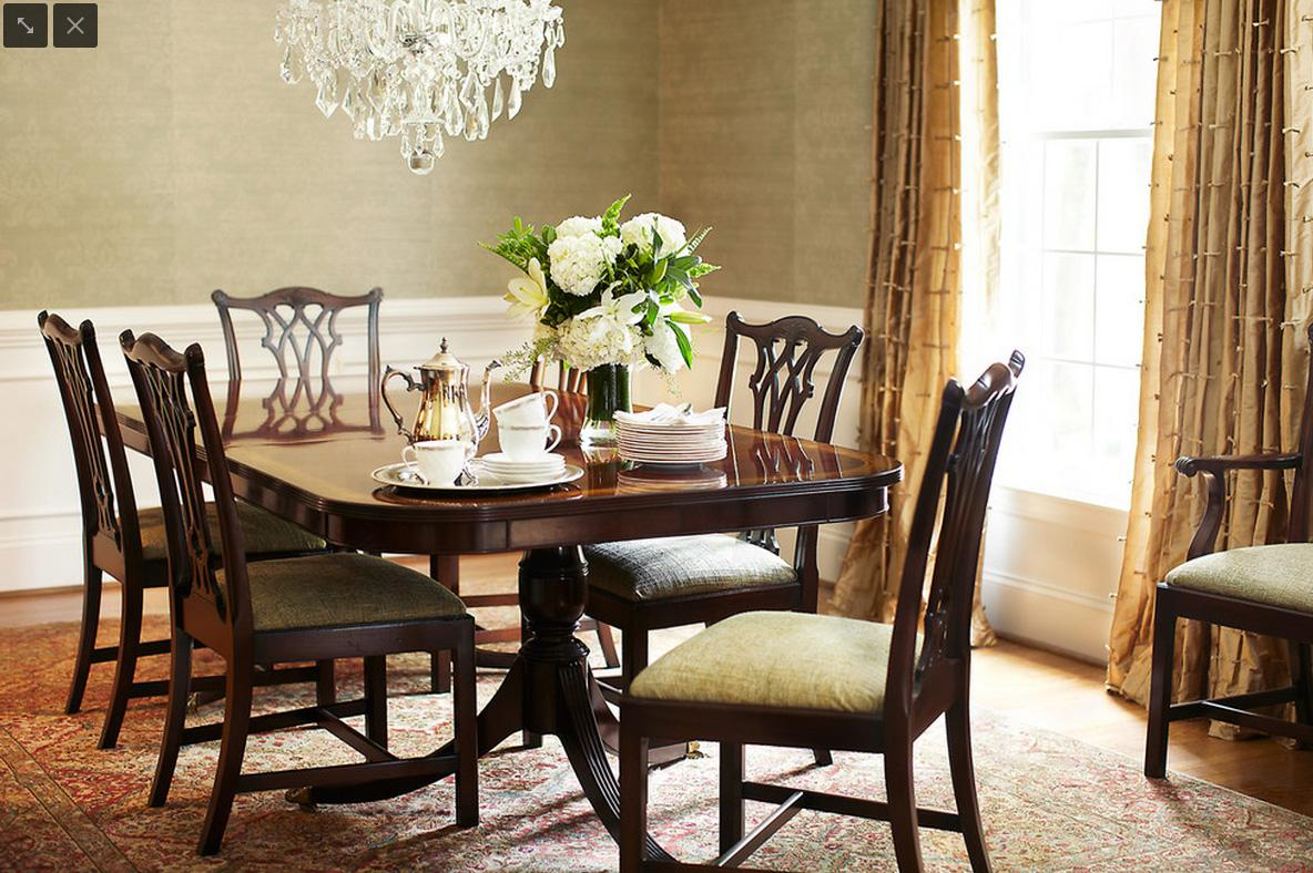 AntiqueStyle Mahogany Chippendale Dining Chairs
