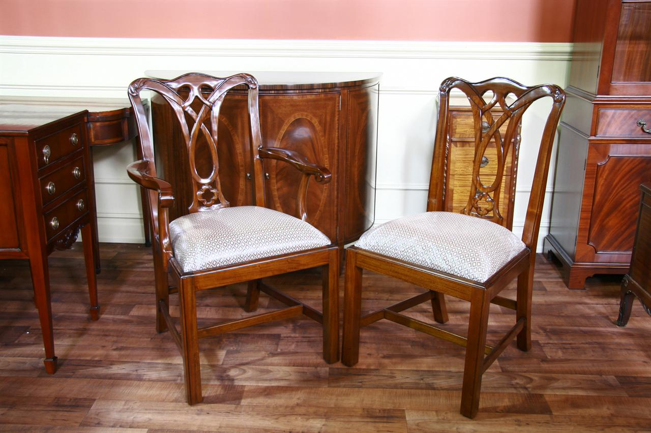 dining end chairs recliner chair covers australia mahogany furniture at the galleria