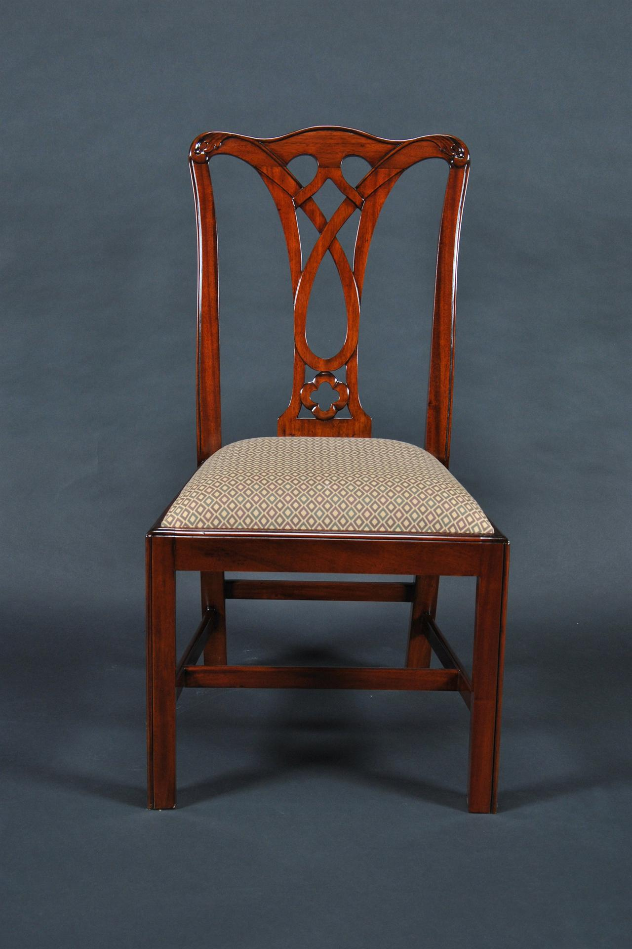 Mahogany Dining Room Chairs Chippendale Chairs