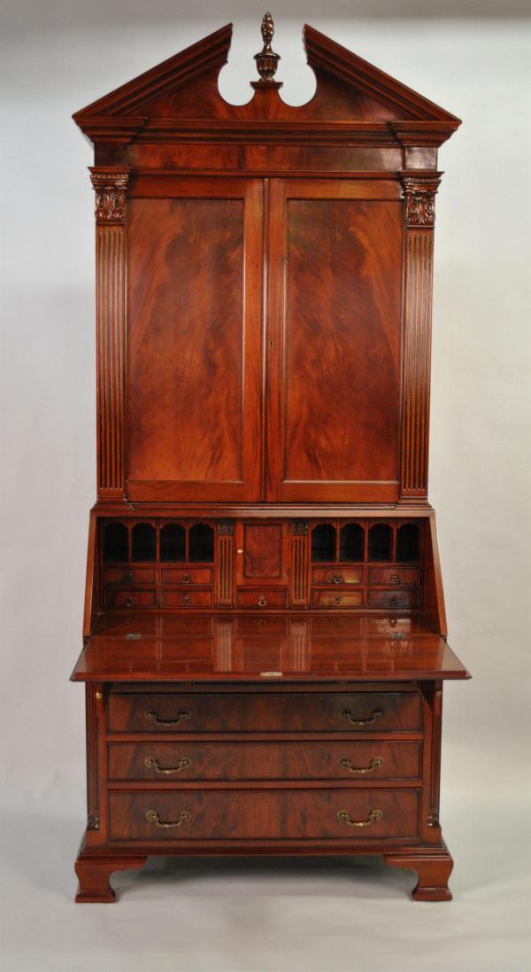 Antique Colonial Secretary Desk