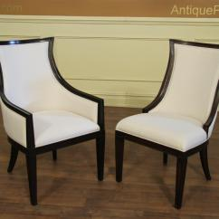 Dining End Chairs Best Toddler Table And Chair Set Ebonized Transitional Upholstered Back