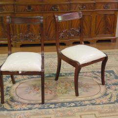 Duncan Phyfe Chairs Cushions For Teak Steamer Dining Table And