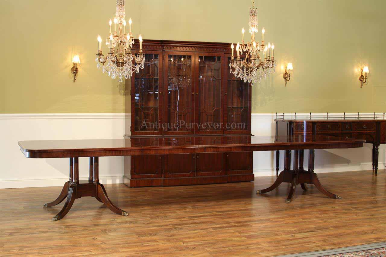 Pedestal Dining Narrow Table