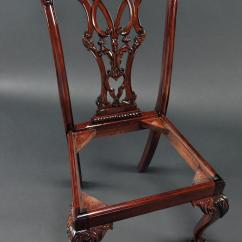 Chair Ball Game Folding Lawn Mahogany And Claw Chairs