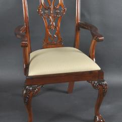 Chair Ball Game Swivel Process Mahogany And Claw Chairs