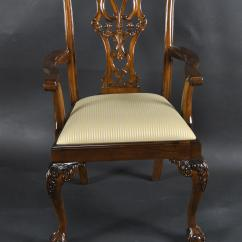 Chair Ball Game Ergonomic Upper-back Support Mahogany And Claw Chairs