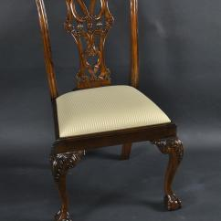 Chair Ball Game Green Dining Covers Uk Mahogany And Claw Chairs