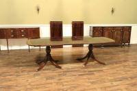 High End Dining Table, Federal Style,12 Foot Mahogany ...