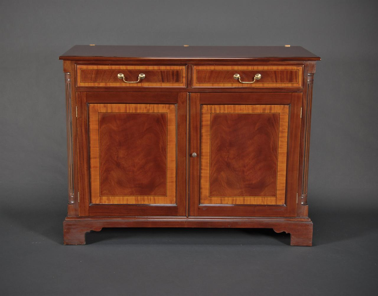 Two door High End Mahogany china cabinet On Sale
