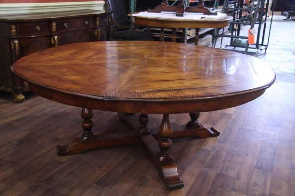 Jupe Table Extra Large Solid Walnut Dining