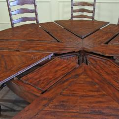 Distressed Leather Dining Chairs Uk Hickory Chair Co 62-78 Jupe Table For Sale-round To Round Country