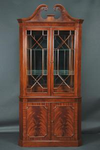 Corner China Cabinet or Corner Hutch for the Dining Room ...