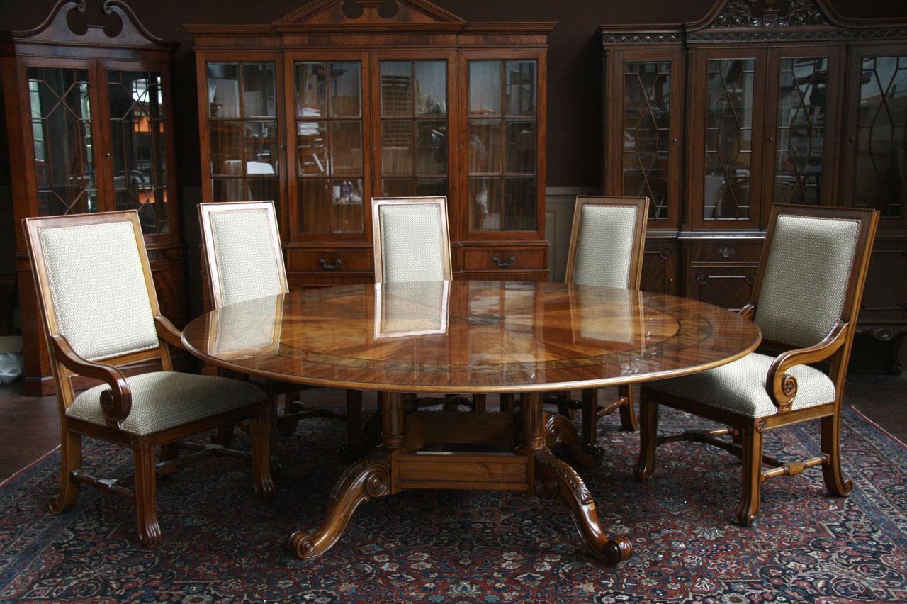 Large Round Dining Table  84 Round Dining Table  Round