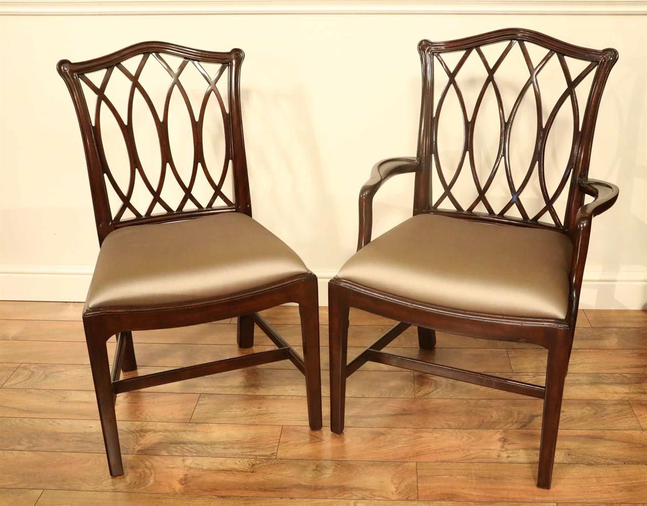 elegant dining room chairs used brookstone massage chair mahogany chippendale for formal rooms