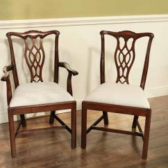 Chippendale Dining Chair Best Desk Chairs For Lower Back Pain Mahogany Straight Leg Simple Classic Elegant With Rock Solid Frames
