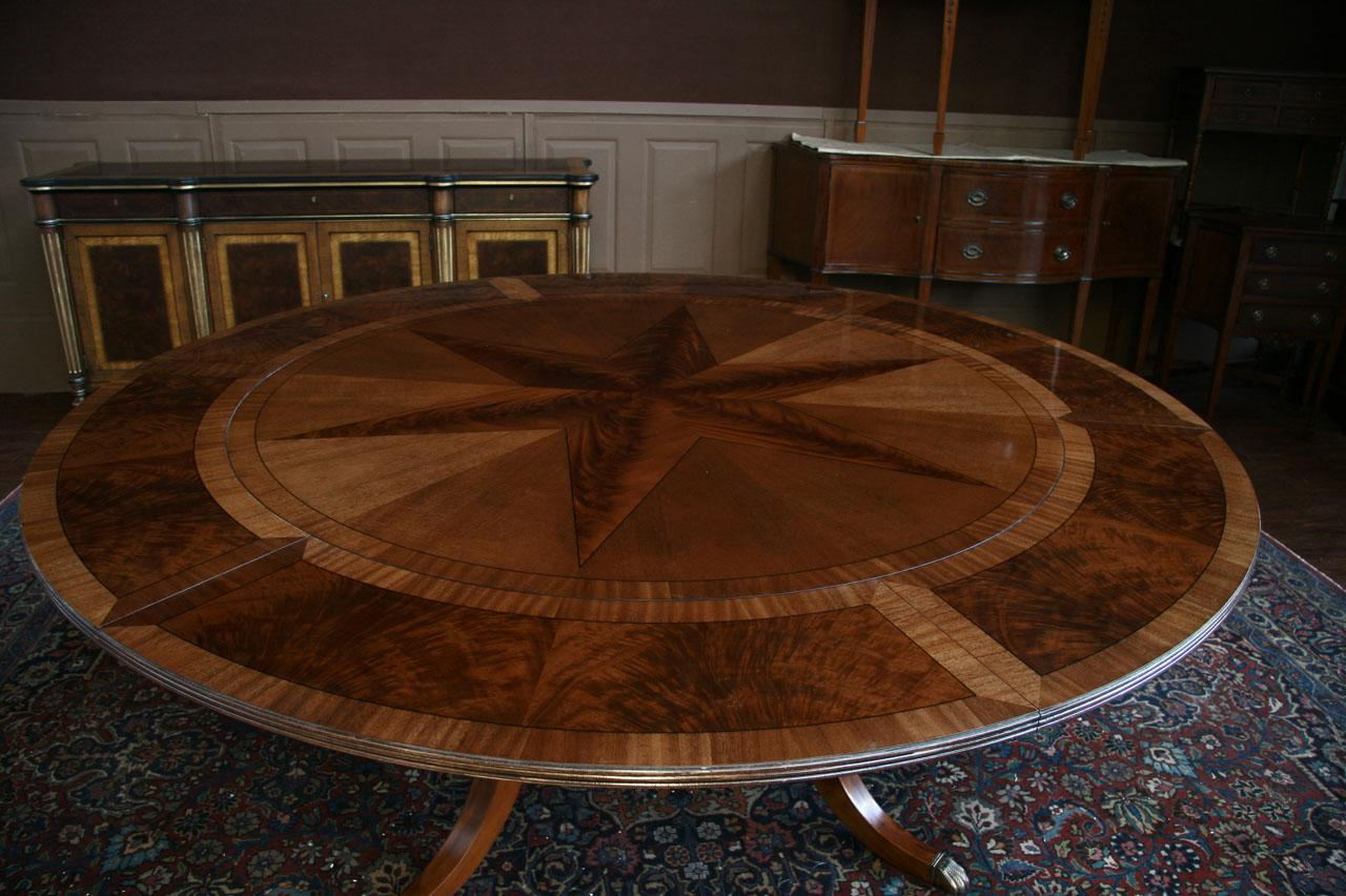 Large Round Dining Room Tables With Leaves 50 Ideas Lrdrtwl Wtsenates Info