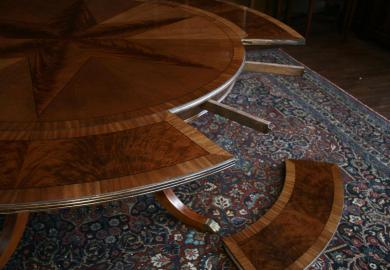 Round Dining Table With Leaves Ebay