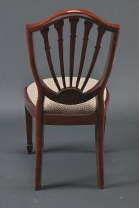 Shield back dining chairs, Simple shield back dining chairs