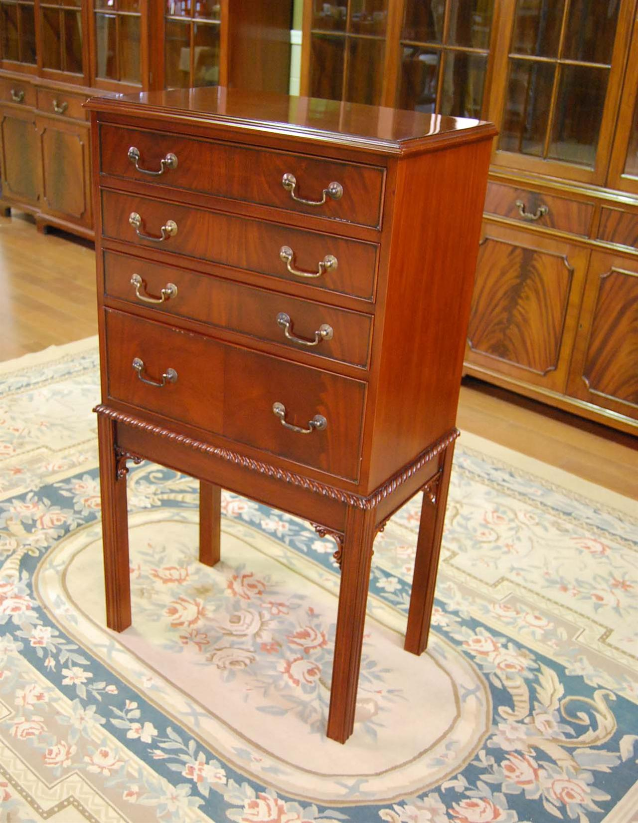 pads for chair legs pub table and 4 chairs mahogany silver chest