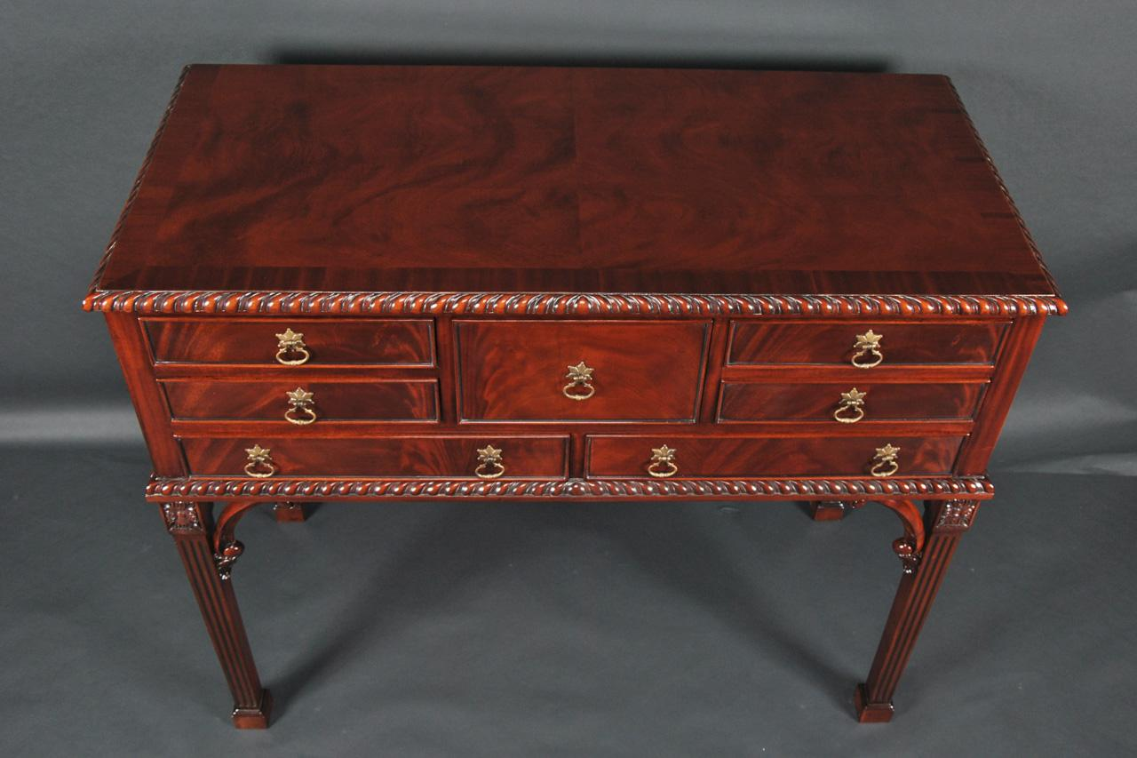 bedroom lazy chair folding beds foam 2 mahogany silver chest & tall server buffet on legs.