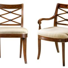 Dining Room High Back Chairs Plastic Chair Covers For Recliners Mahogany Cross Fine Antique Reproductions