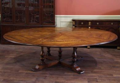 Round Oak Dining Table Dining Tables Chairs For Sale