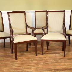 Dining Room Chairs Sale Sun Lounge Kmart Set Of 8 Solid Mahogany Transitional