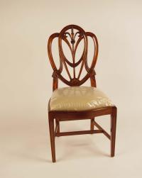 Mahogany Shield Back Dining Room Chairs~Sweetheart   eBay