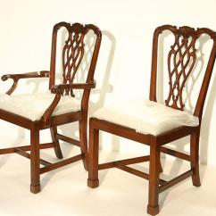 Chippendale Dining Chair Swing In Living Room Straight Leg Chairs With Fluted Legs Close Out Special On Side