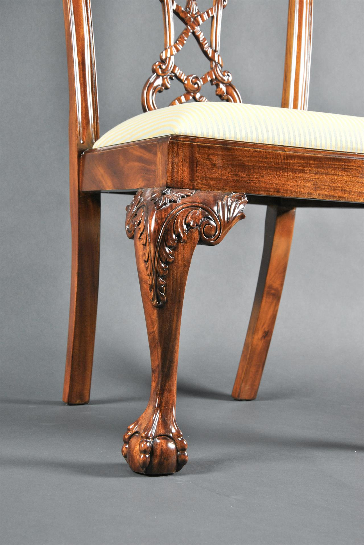 chinese chippendale chairs uk dining room chair covers amazon chippendal mahogany antique style high end hand carved solid thomas