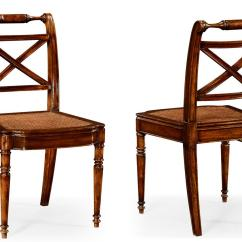 High End Chair Menards Lawn Lounge Chairs Solid Walnut Antique Reproduction Cane Seat Dining