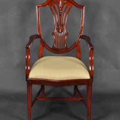 Tall Back Chairs Salon Hydraulic Chair Philippines 12 Wheatsheaf Carved Shield Extra Set 2