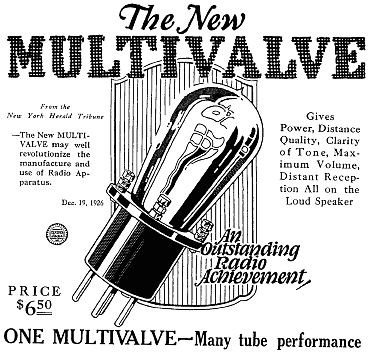 1000+ images about Vintage Vacuum Tube ads on Pinterest