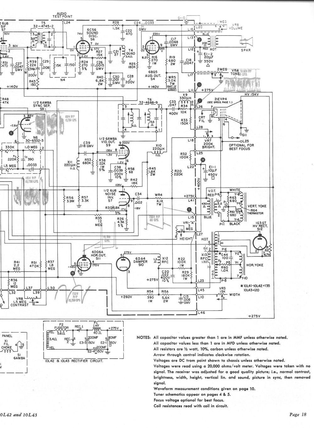 medium resolution of  also got an original philco service manual below are two pages containing the philco schematic to save the files on your computer right click on the