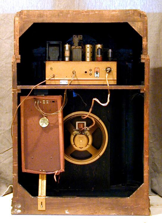 Zenith Model 12S471 Console Radio 1940