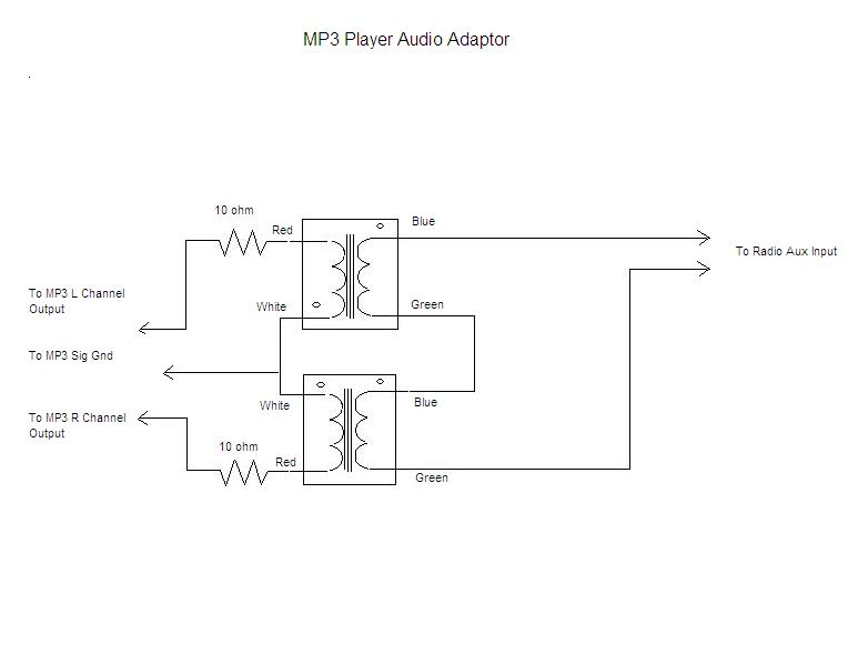 Amp Input Jack Wiring Diagram Ipod Adapter For Vintage Radios