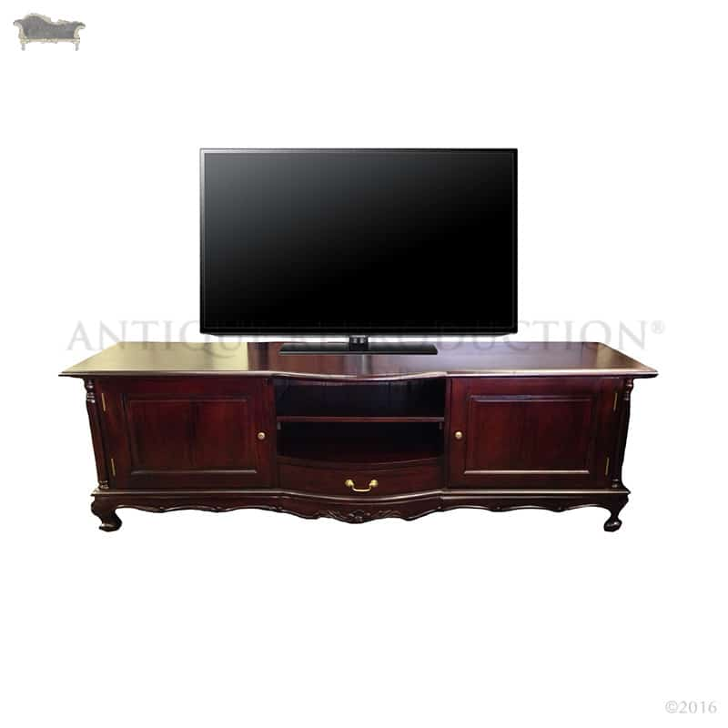 French Provincial Tv Stand Antique Style  Antique