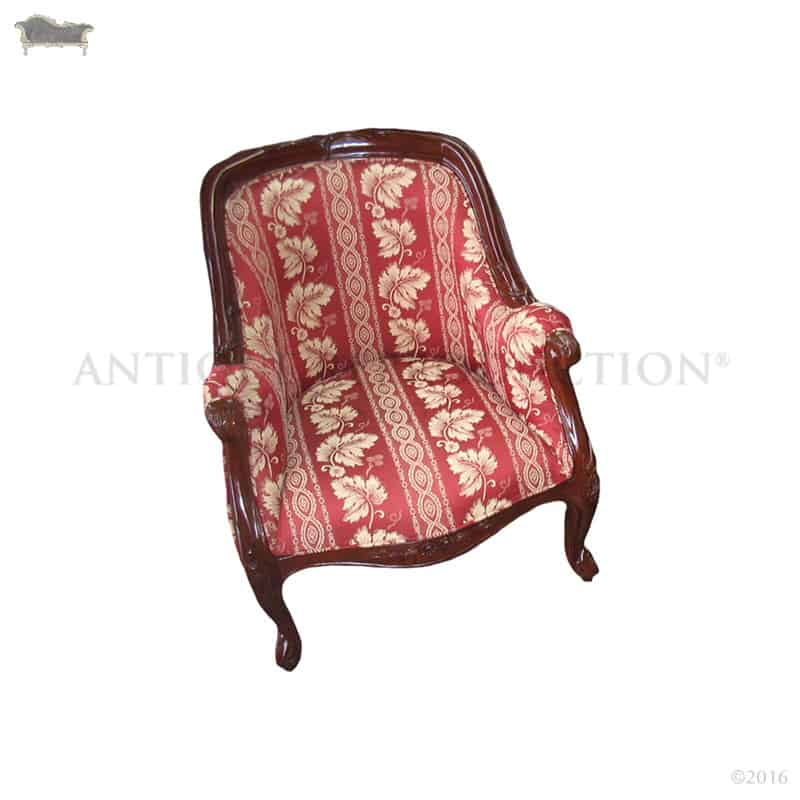 victorian occasional chair hanging rope kit tub antique reproduction - shop