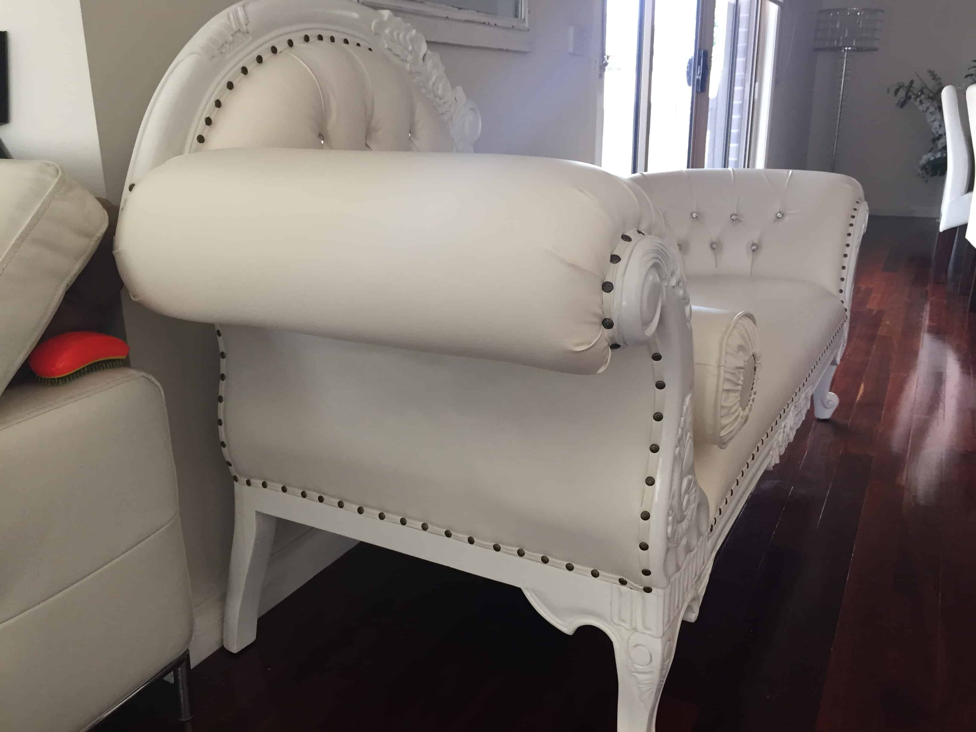 marco cream chaise sofa by factory outlet 60 inch wide sleeper custom made furniture antique reproduction shop
