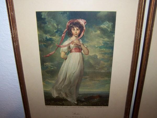 Huntington Art Collotype Prints. Antiques Board