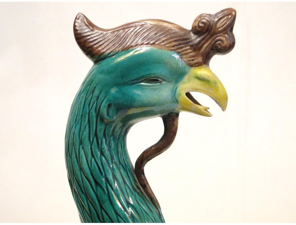Scuplture china Phoenix Bird 19th
