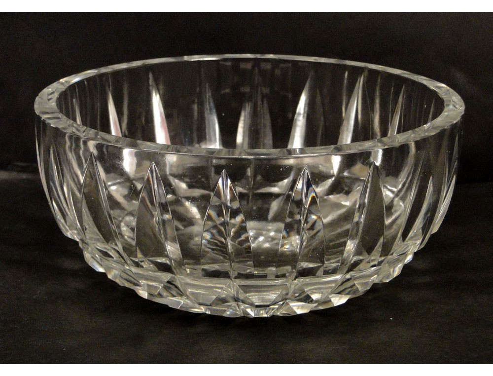 Carved Baccarat Crystal Cup Crystal Daum France 20th