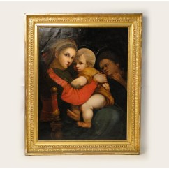 Madonna Of The Chair Herman Miller Task Chairs Hst Painting Italian School 1808 Loading Zoom