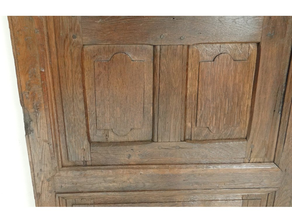 Decorative Trim Element Door Panels Antique French Oak Xvii