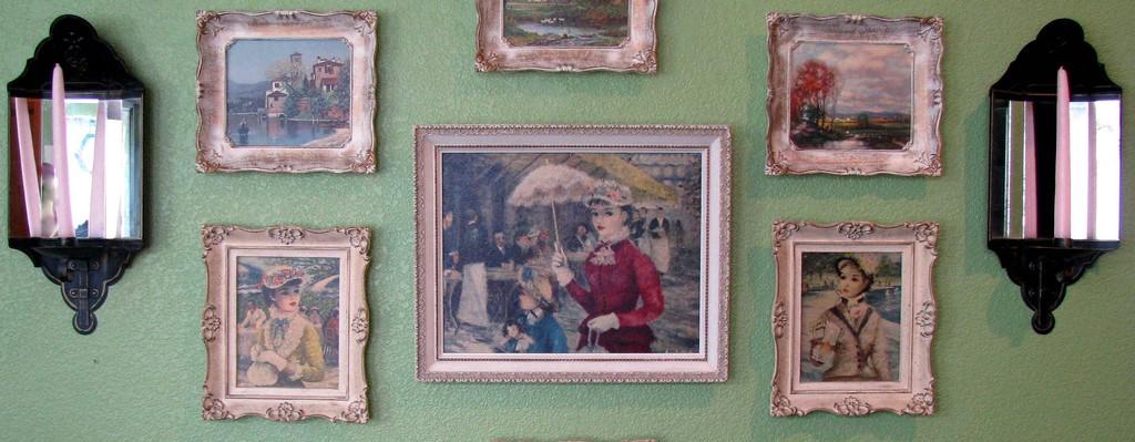 Cornici per quadri, per foto e per laurea. Arredare Con Stile Dipinti Antichi Per Case Moderne