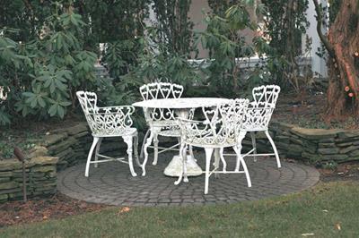 antique garden furniture price guide